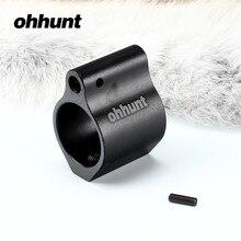 Bloc de gaz tactique ohhunt. 936 pouces en aluminium. Bloc de gaz en acier de 750 pouces avec vis pour accessoires de tir à canon Standard