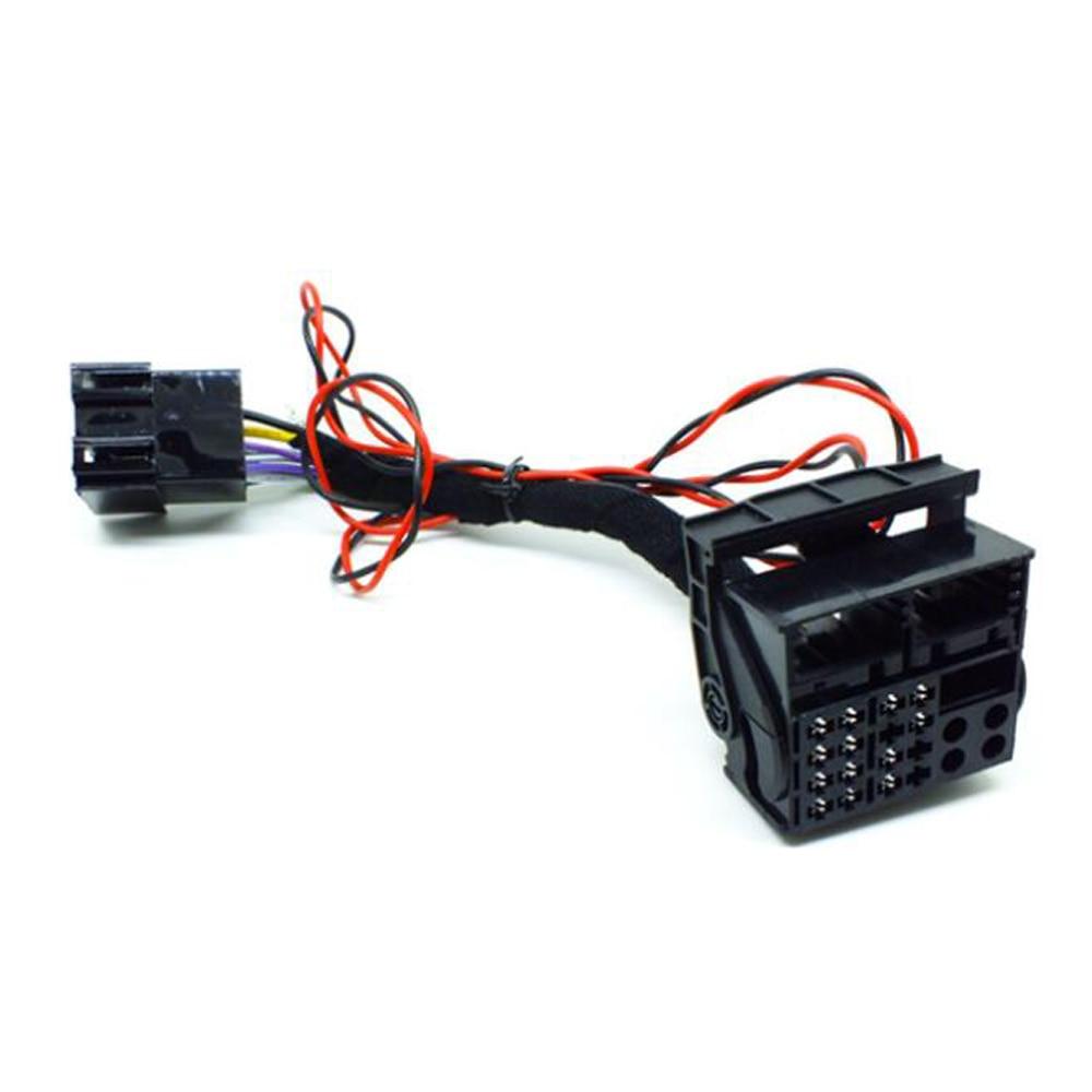 Автомобильный Радио ISO адаптер переключатель кабель RCD330 RCD510 RCD310 RNS510 cd-плеер для VW Polo Jetta Golf Tiguan Passat CC