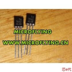 20 piezas TA7642 7642 TO92, Chip de Radio único IC, nuevo, buena calidad