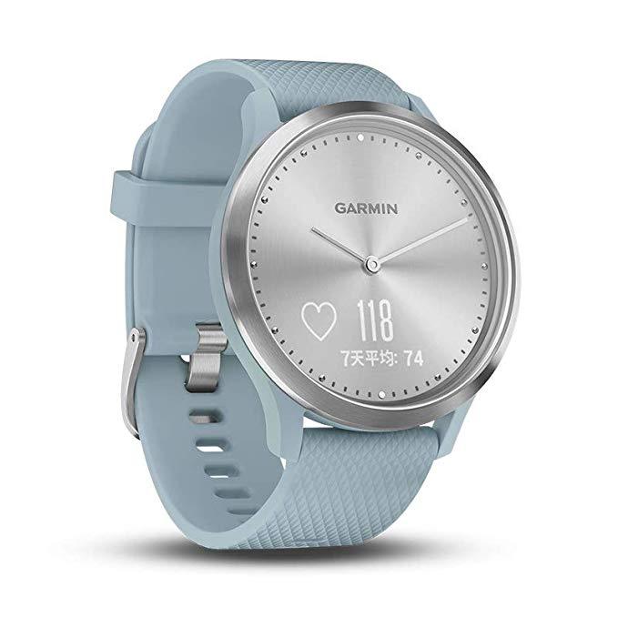 classic watch garmin vivomove HR sports watch heart rate monitor fitness smart watch men women waterproof digital watch
