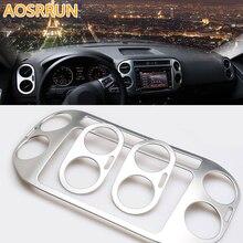 Couvercle de sortie de climatisation de voiture   Accessoires de voiture, style de voiture, ABS pour Volkswagen VW Tiguan MK1 2011-2015