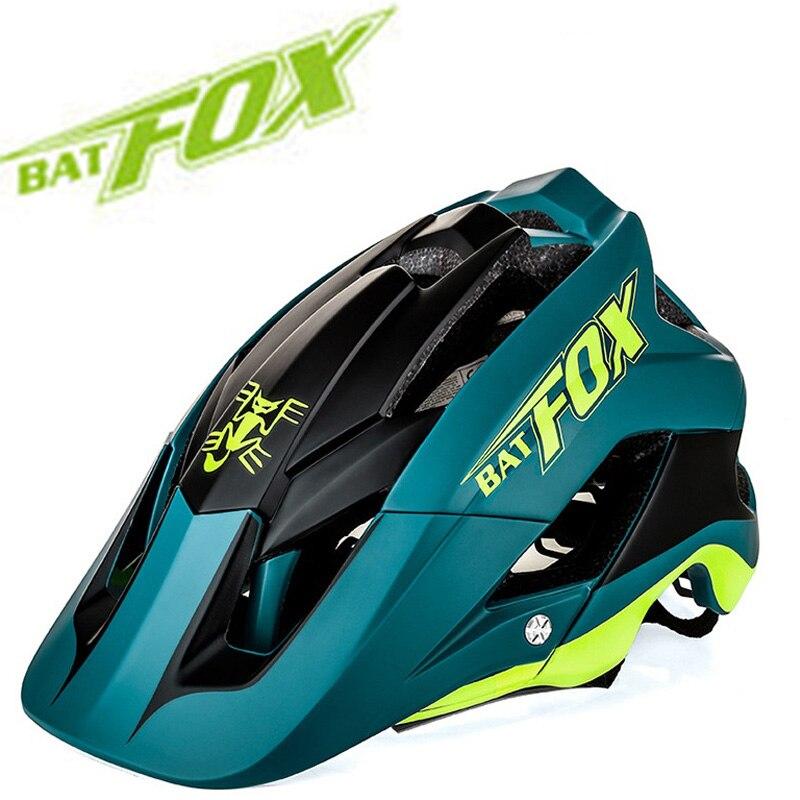 ¡Novedad de 2019! casco de bicicleta ultraligero de alta calidad mtb casco de bicicleta casco ciclismo 7 colores BAT FOX DH AM