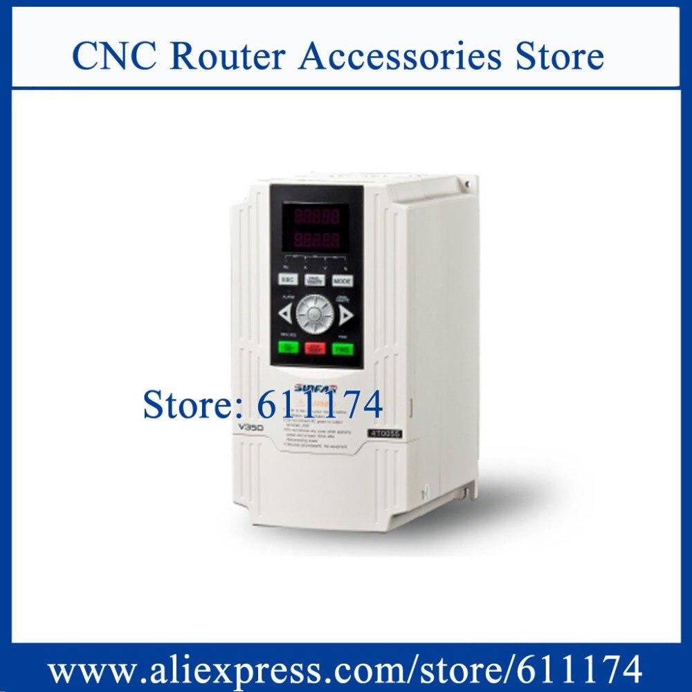 SUNFAR замкнутая петля с ЧПУ инвертор V350-4T0055 VFD инвертор 5.5KW AC380V инвертор частоты 1000 Гц высокочастотный инвертор