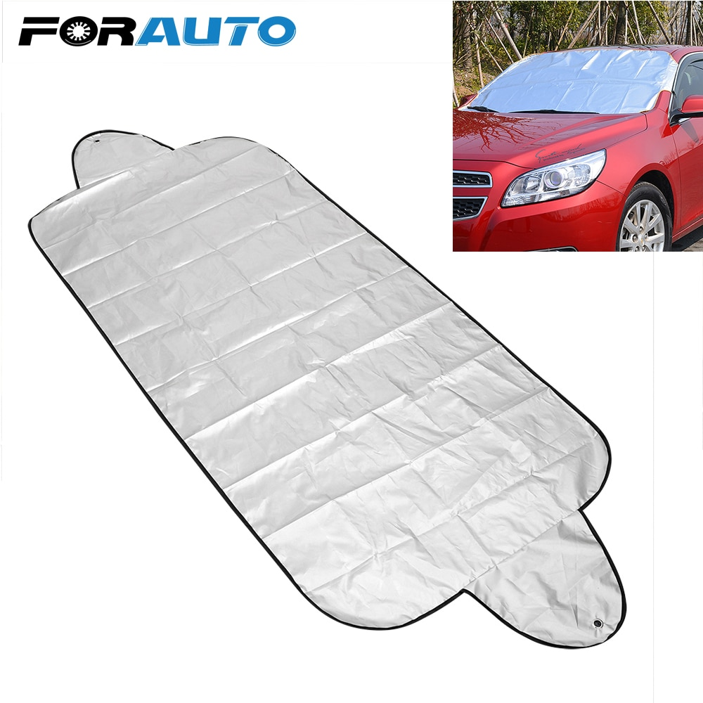Car Front Window Screen Cover Auto Sun Cover Car Windshield Shade Dust Protector Anti Snow Frost Ice