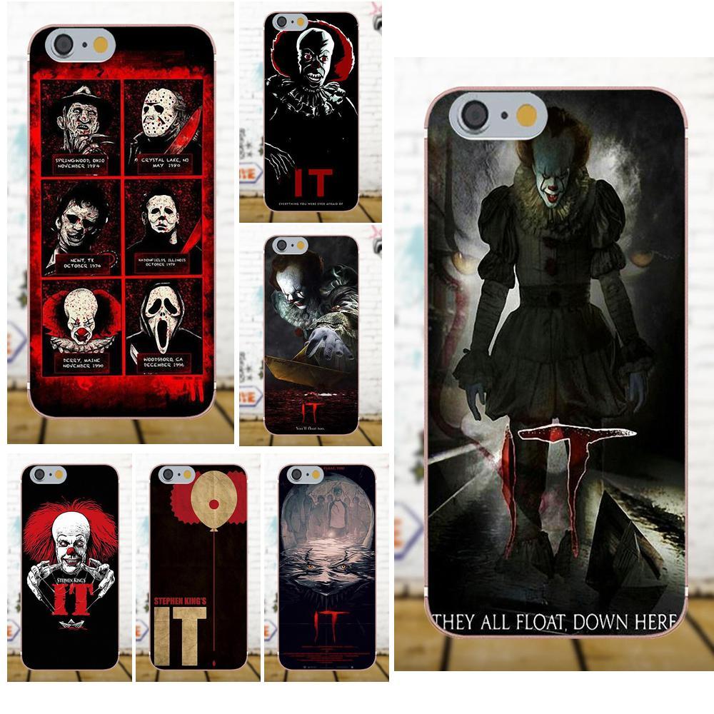 Oedmeb для Galaxy A3 A5 A7 J1 J3 J5 J7 S5 S6 S7 S8 S9 edge Plus 2016 2017 TPU хит продаж Pennywise The Clown Horror