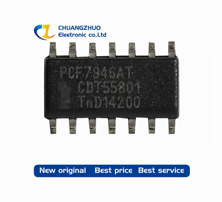 PCF7946AT PCF7946 7946 чип 100% хорошее качество SOP14 1 шт