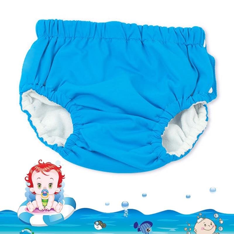 Детские плавающие подгузники, водостойкая одежда для плавания, тканевые плавки для плавания, трусы для бассейна, детские трусики для маленьких мальчиков и девочек