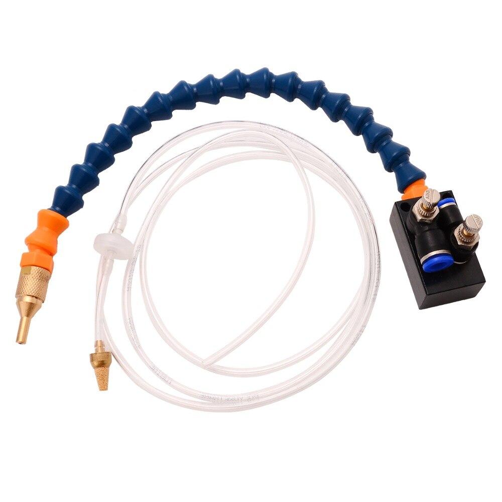 Sistema de pulverización de lubricante refrigerante neblina de alta calidad para tubería de aire de 8mm, taladro de fresado de torno CNC