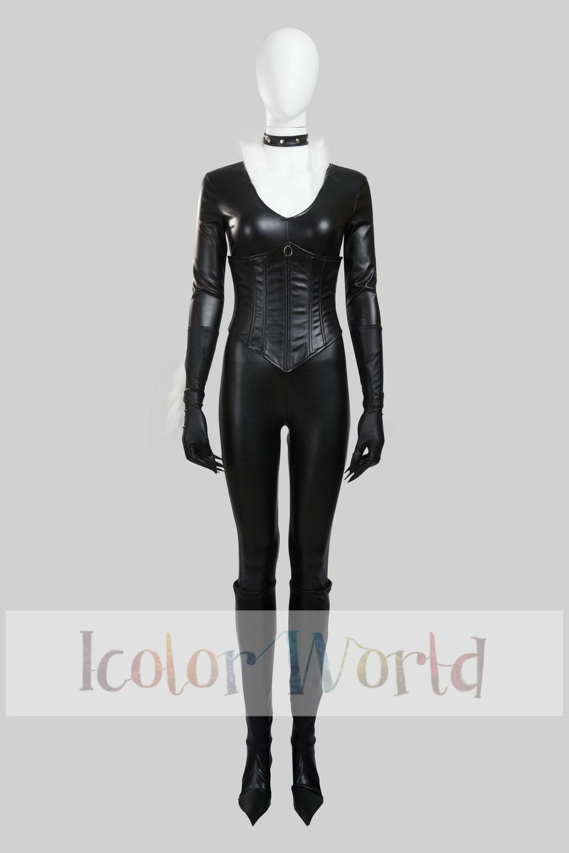 Hombre Araña-gato negro Felicia Hardy Cosplay traje