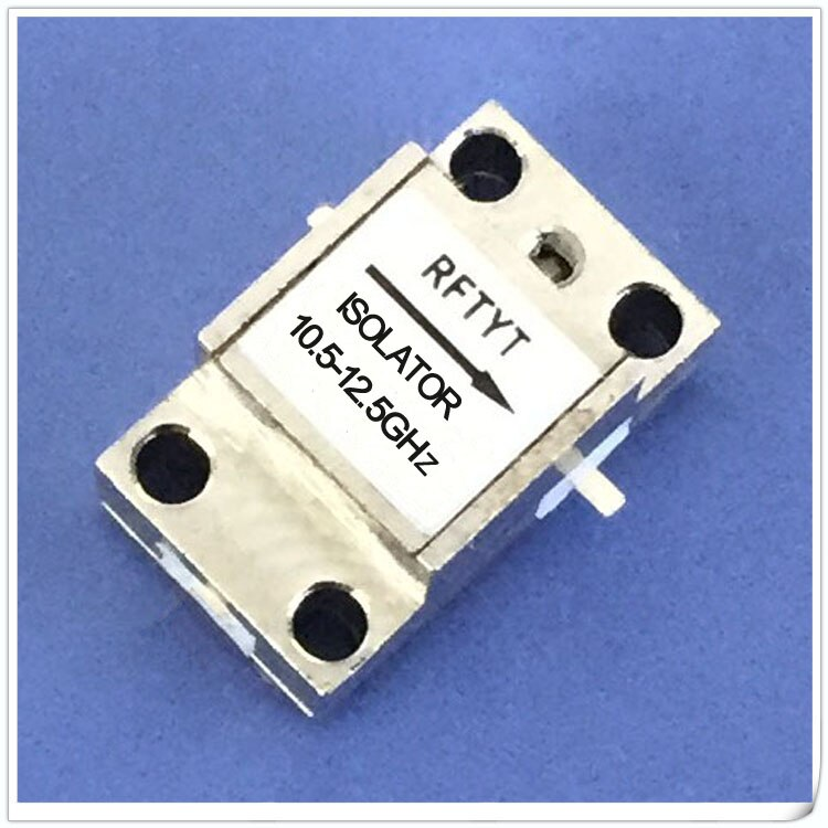 10.5-12.5GHz مغير خط RF الاتصالات المعزل 11G المعزل يمكن تخصيص WG0915D-1