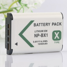 LANFULANG de NP-BX1 batería para Sony NP BX1 Cyber-shot DSC-RX1 DSC-HX60 DSC-HX50 DSC-RX1RM2