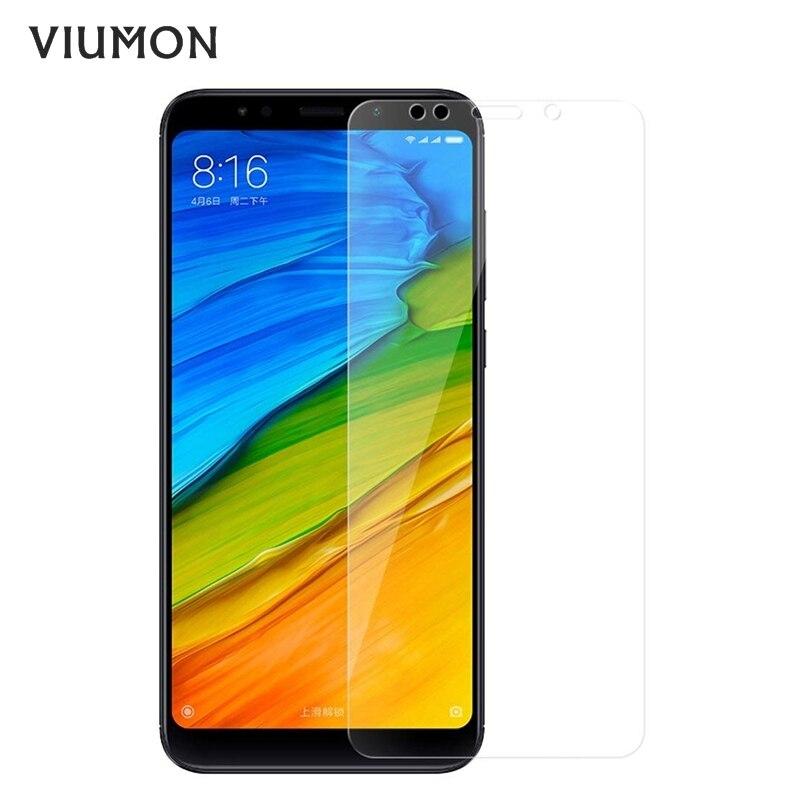 Vidrio templado para Xiaomi mi A1 mi 5X vidrio 9H 2.5D mi A1 5X Protector de pantalla rojo mi Note 4 4X Redmi 5 Plus película de pantalla de vidrio cubierta
