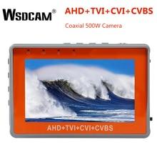 Testeur de vidéosurveillance poignet 4.3 pouces   1080P, testeur de caméra Portable AHD TVI CVI CVBS, TFT LCD, testeur de vidéo analogique 12V, sortie de puissance