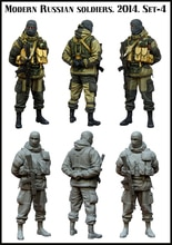 1:35 Moderne Russe soldiers.2014.Set-4