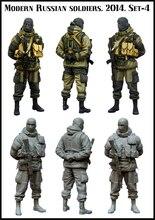 1:35 Moderne Russische soldiers.2014.Set-4