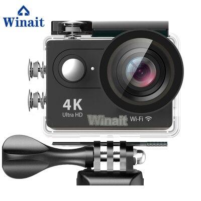"""Câmera Ação Winait HD Ultra 4K H9 2.0 """"Display LCD Mini Esporte Cam 30 metros Debaixo D Água Para A Natação surf Mergulho"""