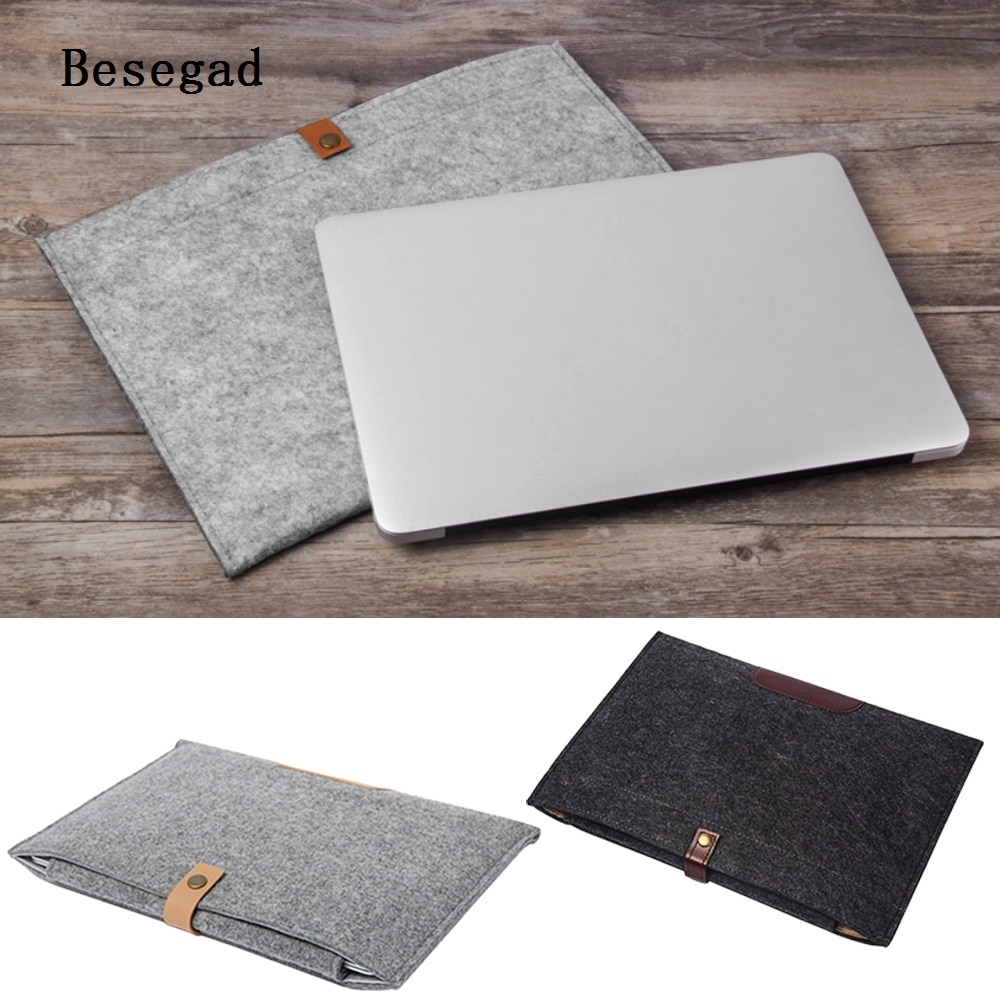 Besegad protectora Ultra-delgada suave funda, soporte bolsa para Apple Macbook Mac libro Pro Retina portátil 11 13,3 pulgadas