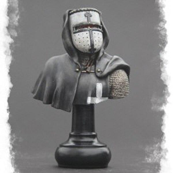 1/10 resin figure bust model Roman warrior crusade third march gk hand white die X81