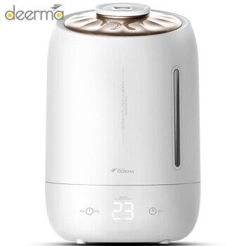Deerma, Humidificador eléctrico de aromaterapia para dormitorio, 5L, grande, sensible a la temperatura, Mini humidificador de Casa muda para oficina