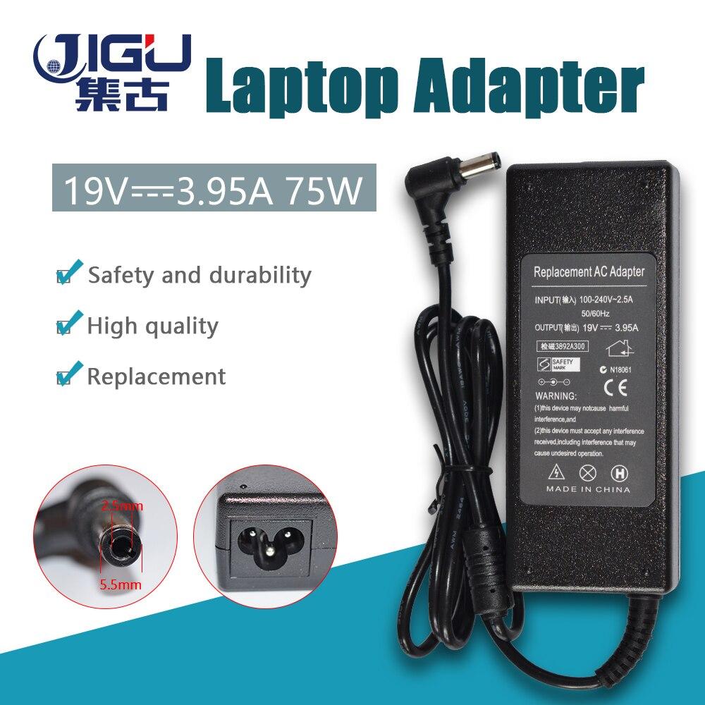 JIGU 19V 3.95A * 5,5*2,5mm 75W PA3468E-1AC3 PA-1750-09 Ac adaptador de alimentación para Toshiba FA105 FM35X U305 P205 cargador