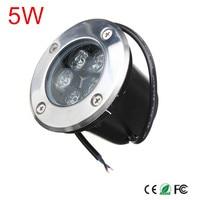 DC12V/AC85-265V 5w Outdoor Underground Lamp Waterproof IP67 LED Spot Floor Garden Yard LED underground light