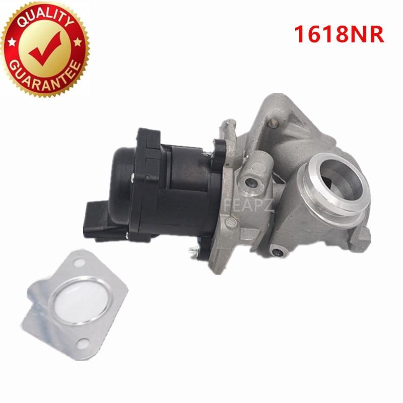 Exhaust Gas Recirculation EGR VALVE For PEUGEOT 1007 3008 5008 206 207 307 308 407 EXPERT PARTNER RANCH 1.6 HDi 1618NR 1618.NR