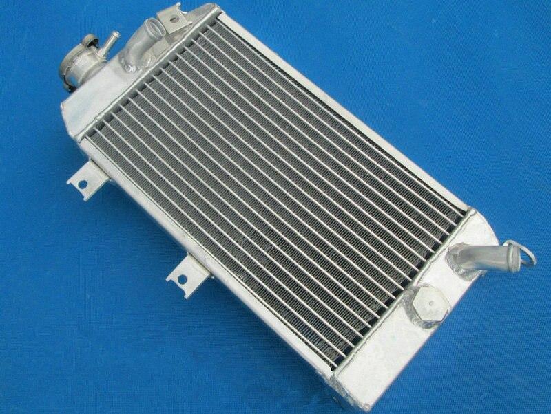 Radiador de alumínio preço de fábrica para kawasaki klr650 klr 650 personalizado 2008-2010 2008 2009 2010