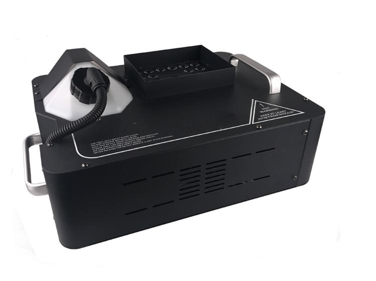 24*9 واط RGB DMX512 LED اللاسلكية التحكم عن بعد حتى الأمام آلة الضباب 1500 واط LED آلة الضباب