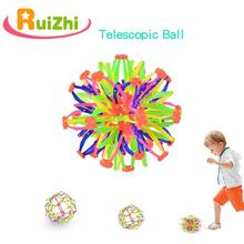 RUIZHI bébé lancer balle magique télescopique floraison rétrécissement balle enfants jouets sens équipement dentraînement jeux de sport RZ1001