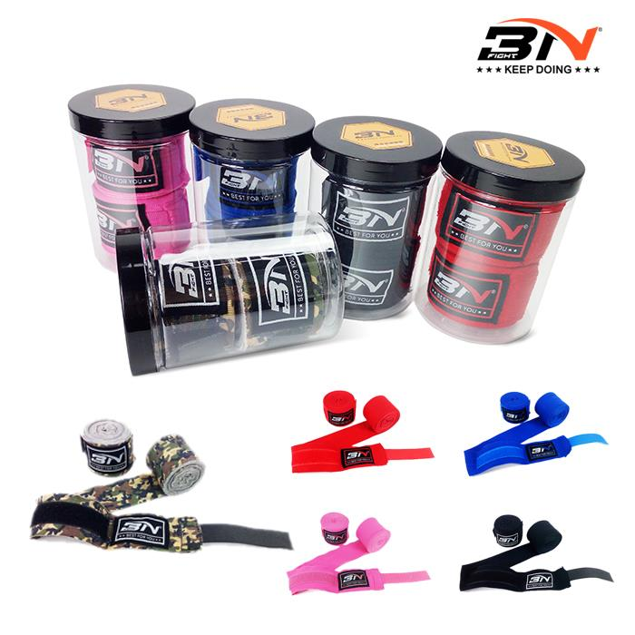 BNPRO 2 uds./rollo ancho 3 M/5 M Nylon MMA Muay Thai boxeo mano vendas envolventes Protector de muñeca soporte artes marciales Taekwondo DBO