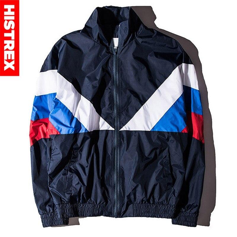 HISTREX, chaqueta rusa 2019 para hombres, Bandera de Rusia de alta calidad, diseñador famoso, cazadora de Nylon, Reggae verde militar, abrigos de retales