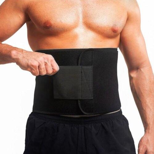 Suave sudor cintura estómago cinturón de adelgazamiento gordo quemar pérdida de peso cuerpo Shaper faja