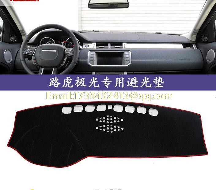 Dashmats coche-estilo de accesorios del tablero para land rover Evoque 3 puertas, modelo 2012, 2013, 2014, 2015, 2016