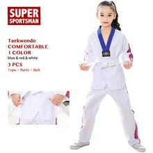 Children Taekwondo Belt Kids Karate Uniform Baby Girls Judo Toddler Boys Fitness Martial Arts Clothes Itf Takwondo Suits Set Wtf