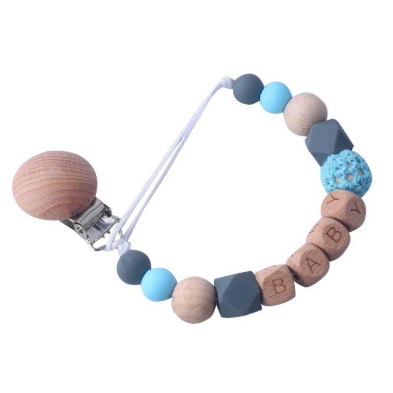 Детские Прорезыватели для зубов, 1 шт., соска с животным зажимом, цепь для маленьких детей, Подвесная подставка для сосков, детские игрушки для прорезывания зубов