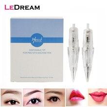 15pcs/pack Disposable Sterilized Permanent Lip Eyebrow Makeup Screw Tattoo Needles Cartridge Tip For PMU/MTS Machine Pen