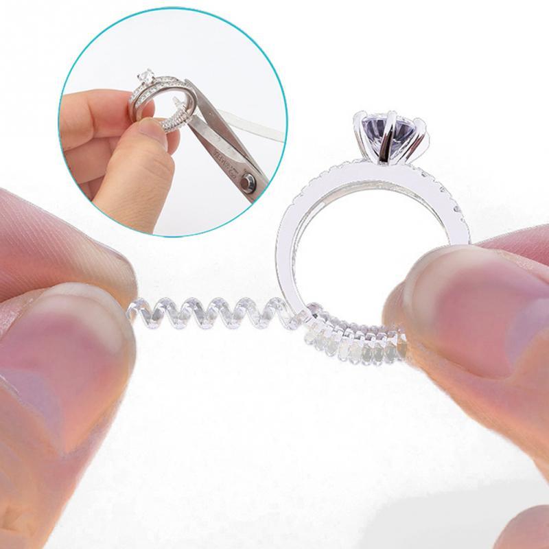 3mm * 10cm ou 5mm * 10cm feminino masculino redutor regulador ajustador 1 pçs corda de mola transparente vintage tightener