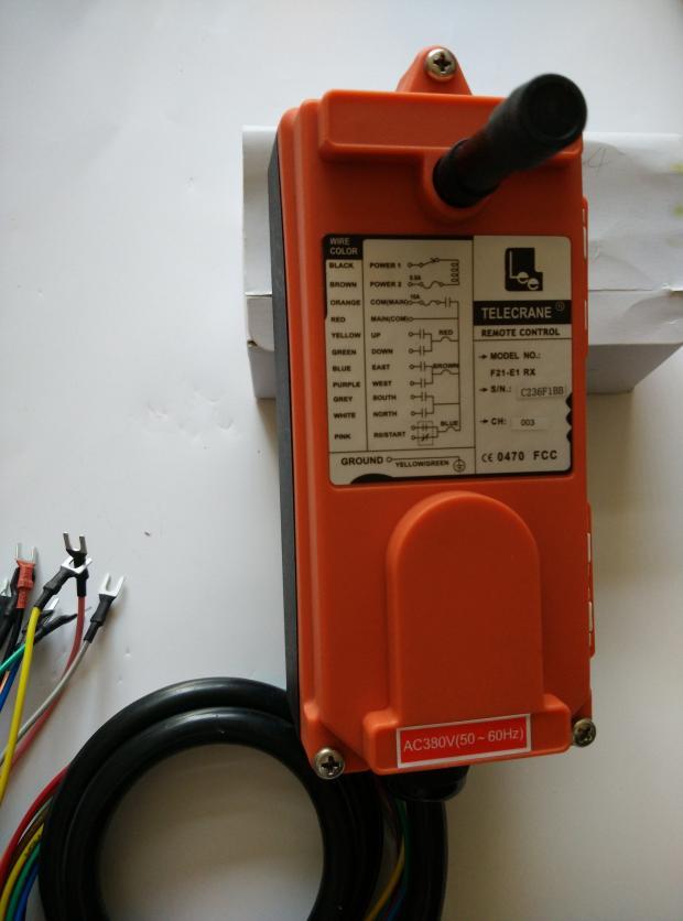 380v Telecrance F21-E1B Industrial radio remote control for crane