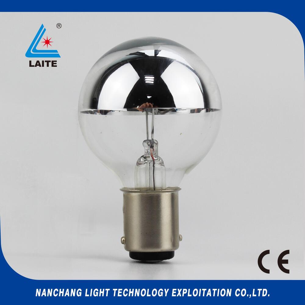 WA shadowless lamp 24V 25W BA15D hanaulux H016164 half silver bowl operation theatre bulb free shipping-50pcs
