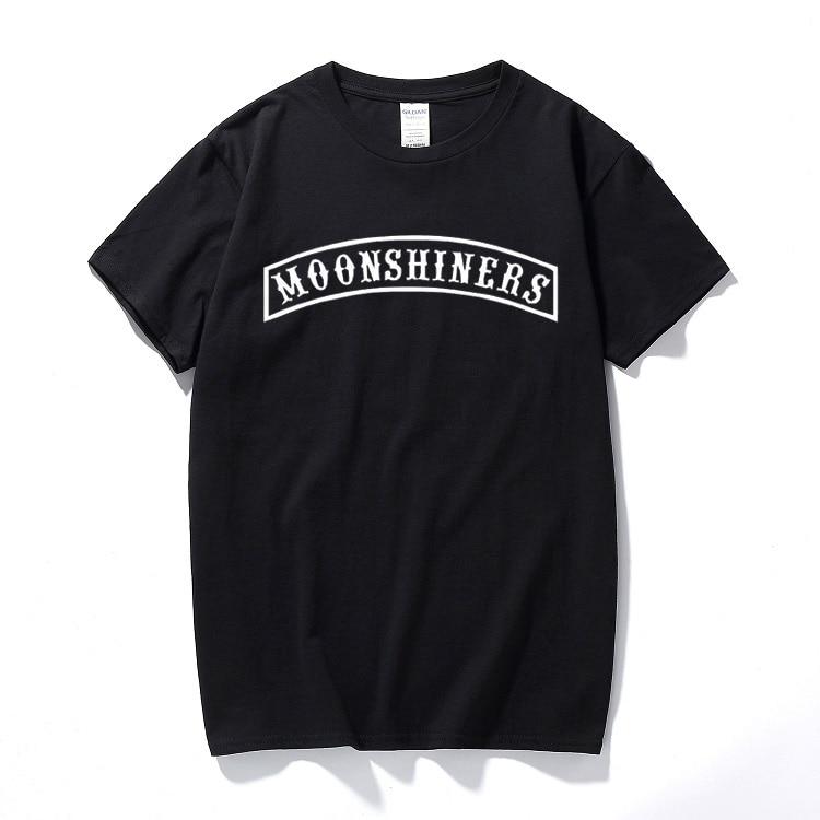 Moonshiners T-shirt drôle Sutton Moonshine Hillbilly South court pop-corn hauts coton manches courtes T-shirt camisetas hombre