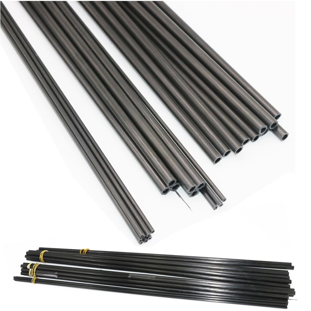 Трубка из углеродного волокна 3K для мультикоптера, 16 шт./лот, 3 мм/4 мм/5 мм/6 мм/7 мм/8 мм/10 мм (0,5 метра/шт.), оптовая продажа
