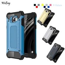 Wolfsay pour housse Samsung Galaxy C7 étui C7000 Silicone dur armure téléphone couverture pour Samsung Galaxy C7 étui pour Samsung C7 étui