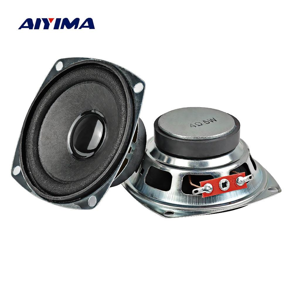 AIYIMA-Altavoz portátil para cine en casa, sistema de sonido de 4 Ohm,...