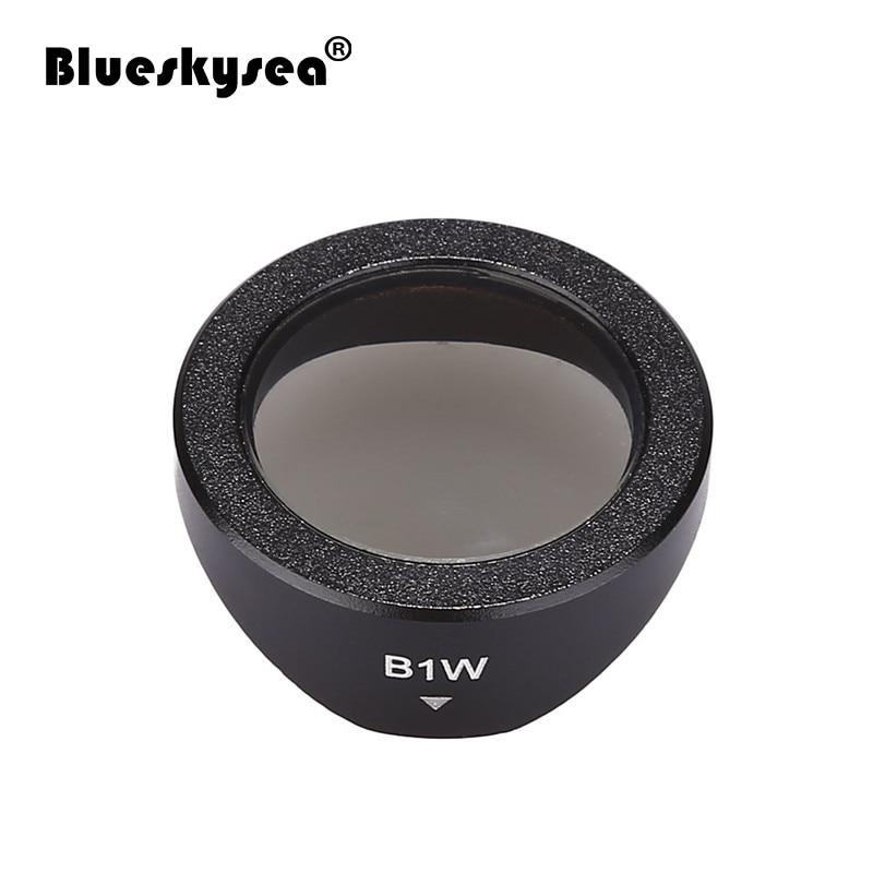 Blueskysea cpl filtro circular polarizando lente capa para b1w dvr/câmera traço