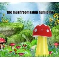 Humidificateur LED a lampe champignon  purificateur dair domestique  atomiseur diffuseur dhuile essentielle  brumisateur aromatique