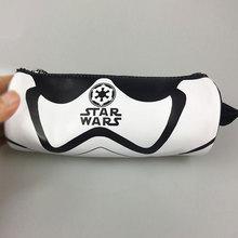 Nouveauté stylo crayon sacs pochette portefeuilles carteira dessin animé Star Wars Starwars sac à main cadeau hommes femmes cuir porte-clé