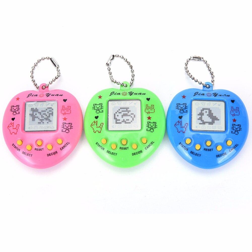 1 unidad de máquina de juegos electrónicos para mascotas Tamagochi 168 mascotas en 1 juguetes educativos para aprendizaje para niños
