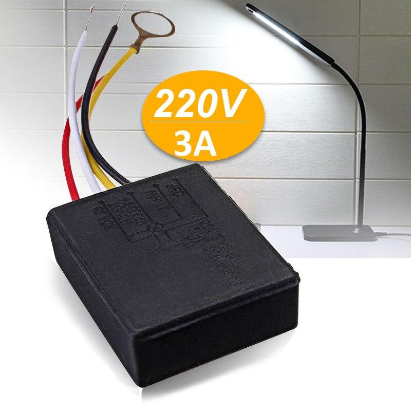 levou dimmer lampada de controle ac 220 v interruptor do sensor universal acessorios