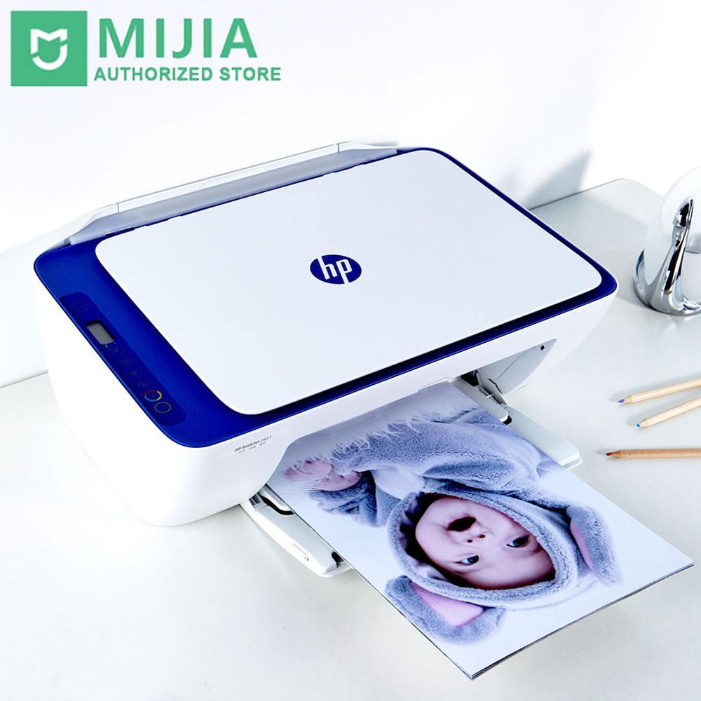 Impressora sem Fio para Papel Scanner de Escritório em Casa 3 em 1 Youpin Deskjet Foto Cópia 120×1200 Dpi Inteligente Controle App hp 2621wifi