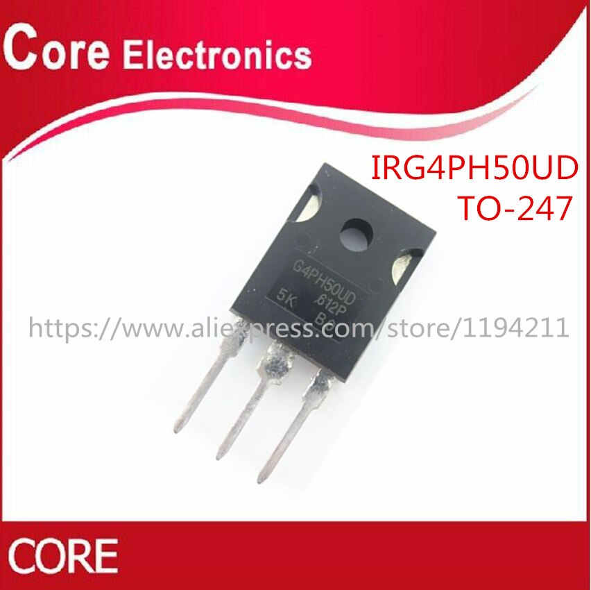 10 sztuk/partia IRG4PH50UD G4PH50UD IGBT 1200V do-247 nowy